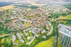 Die Pilsen-Stadt Stockfotos