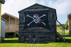 Die Piratenhütte Lizenzfreies Stockbild