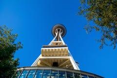 Die Platz-Nadel in Seattle Stockbilder
