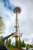 Die Platz-Nadel in Seattle Lizenzfreies Stockfoto