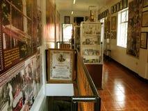 Die Polen-Museums-Ausstellung, Nationalheiligtum der göttlichen Gnade in Marilao, Bulacan Stockbilder