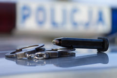 Die Polizei Lizenzfreies Stockbild