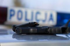 Die Polizei schießt Lizenzfreie Stockfotos