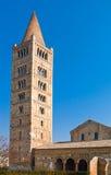 Die Pomposa-Abtei von Codigoro Lizenzfreie Stockfotos