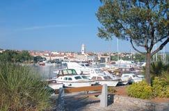 Krk Stadt, Krk Insel, Kroatien Lizenzfreie Stockfotografie