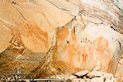 Die prähistorischen Malereien Lizenzfreies Stockbild