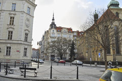 Die Prag-Architektur lizenzfreie stockfotos
