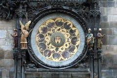 Die Prag-astronomische Borduhr Lizenzfreies Stockfoto