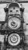 Die Prag-astronomische Borduhr Stockfotos