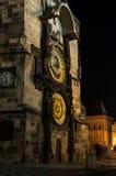 Die Prag-astronomische Borduhr Stockfotografie