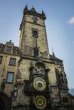 die Prag-astronomische Borduhr Lizenzfreie Stockfotografie
