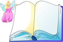 Die Prinzessin mit Buch Stockfotos
