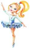Die Prinzessin tanzt Lizenzfreies Stockbild