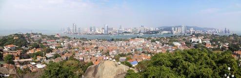 Die Promenade, Gulangyu-kleine Insel stockbilder