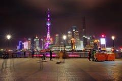 Die Promenade in Shanghai Stockfoto
