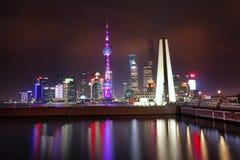 Die Promenade in Shanghai Lizenzfreies Stockfoto