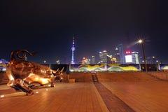 Die Promenade in Shanghai Lizenzfreie Stockfotografie