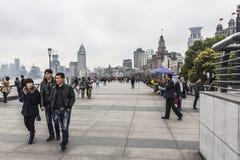 Die Promenade Shanghai Stockfoto