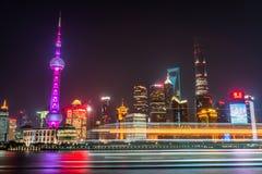 Die Promenade Shanghai Stockbild