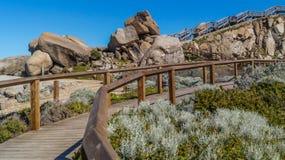 Die Promenade und die Granite Lizenzfreie Stockbilder
