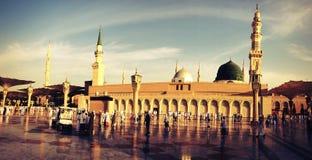 Die Prophet-Moschee Stockfoto