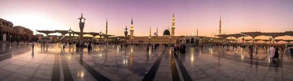 Die Prophet ` s Moschee lizenzfreie stockbilder