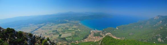 Die Provinz-Türkei-Panorama Akyaka Mugla Lizenzfreie Stockbilder