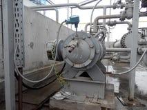 Die Pumpe für das Pumpen des Öls und der Produkte stockbilder