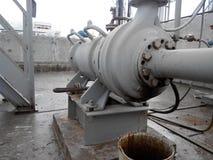 Die Pumpe für das Pumpen des Öls und der Produkte lizenzfreies stockbild
