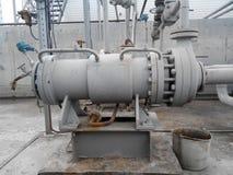 Die Pumpe für das Pumpen des Öls und der Produkte stockfoto