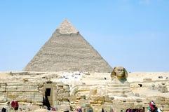 Die Pyramide Stockbild