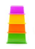 Die Pyramide der Kinder Lizenzfreie Stockbilder
