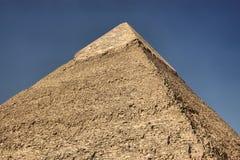 Die Pyramiden in Ägypten Stockfotografie