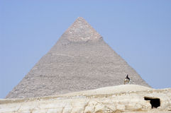 Die Pyramiden stockfotos