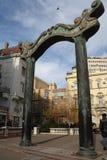 Die quadratischen Jungvermählten ist das Quadrat in Novi Sad Lizenzfreie Stockfotografie