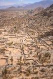 Die Quilems-Ruinen in Argentinien Stockfotos