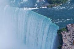 Die Ränder des Niagara-Falles Stockfotografie