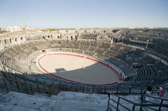 Die römische Arena stockfotografie