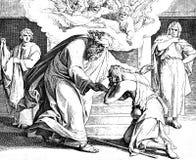 Die Rückkehr Prodigal Sons Stockbild