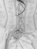 Die Rückseite des Kleides Lizenzfreie Stockfotos