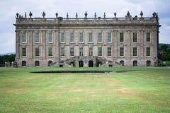 Die Rückseite von Chatsworth-Haus stockbilder