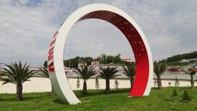 die Rücksortierung beim Schwarzen Meer Olympisches Dorf Lizenzfreie Stockfotos