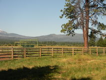 Die Ranch stockfoto