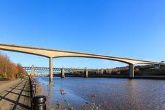 Die Redheugh-Brücke Stockfotografie