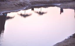 Die Reflexion im Wasser Stockfotografie