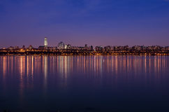 Die Reflexion von New York Lizenzfreies Stockbild
