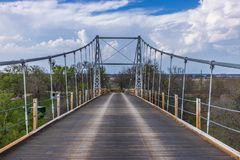 Die Regentschafts-Hängebrücke 1 Stockbilder