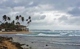 Die Regenzeit in Sri Lanka Stockfotos