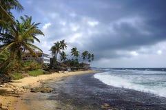 Die Regenzeit in Sri Lanka Lizenzfreie Stockfotografie