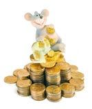 Die reiche Maus Stockfoto